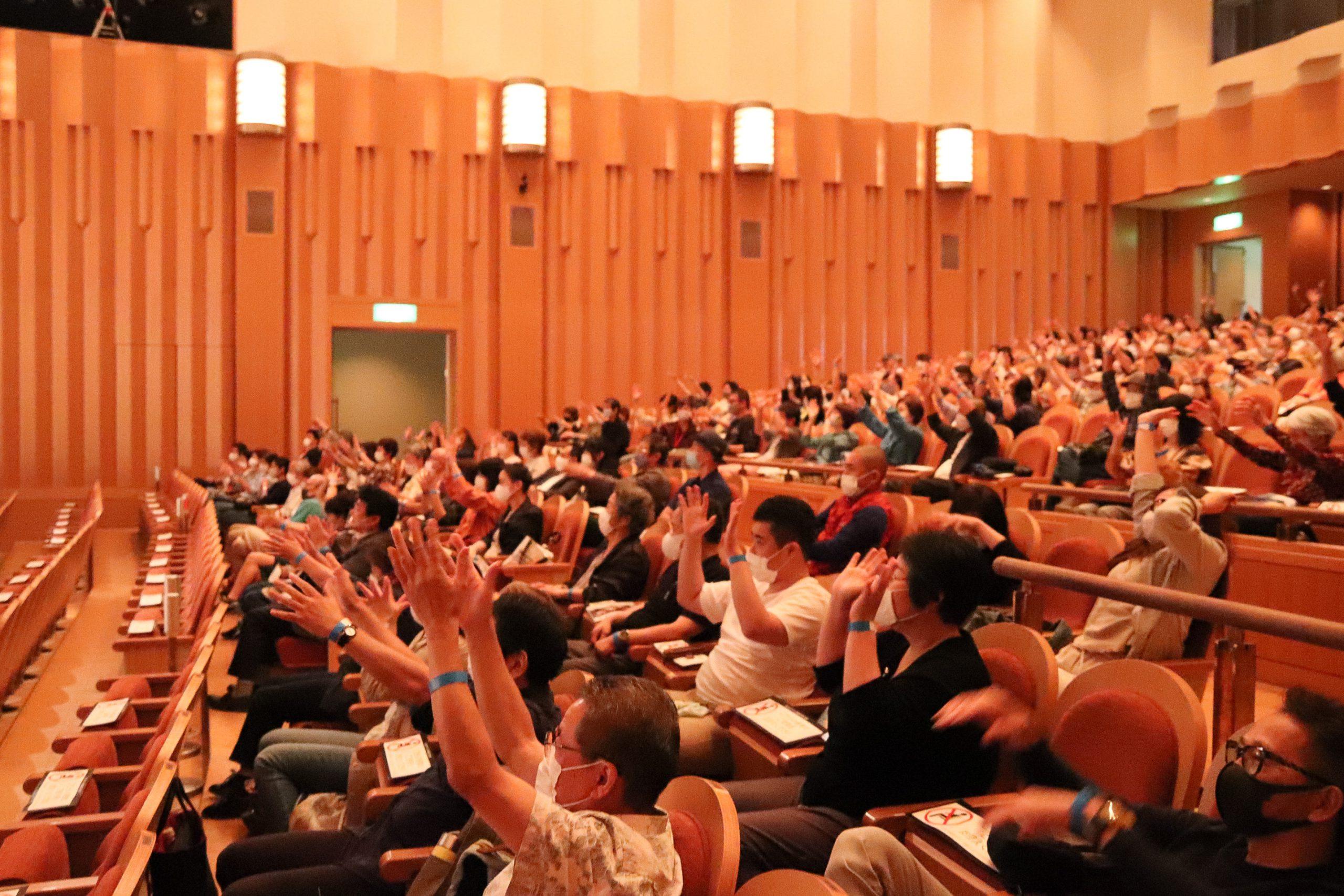 10月4日奈良県斑鳩町上映会